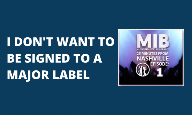 I Don't Want to be Signed to a Major Label