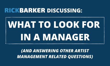 How To Get A Music Manager (Updated for 2020)