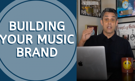BUILDING YOUR MUSIC BRAND