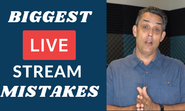 BIGGEST MISTAKES PEOPLE MAKE IN THEIR LIVE STREAMS