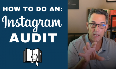 HOW TO DO AN INSTAGRAM AUDIT