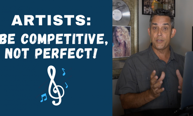 ARTISTS: STOP TRYING TO BE PERFECT!