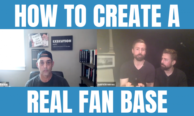 HOW TO CREATE A REAL FAN BASE