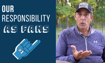 Our Responsibility As Fans…